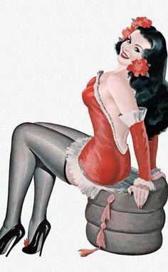 Peter Driben | Pin Up artist | Vintage art #Pin-Ups #Vintage #Retro