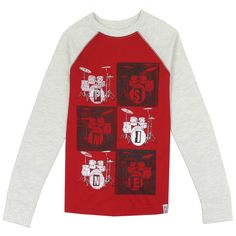 33745add #HtownKids #Areopostale #FreeShipping Red Shorts, Boys Shirts, Long Sleeve  Tops,. Houston Kids Fashion Clothing