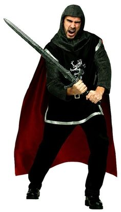 Sun Warrior God Vinyl Vampire Gothic Coat Adult Costume