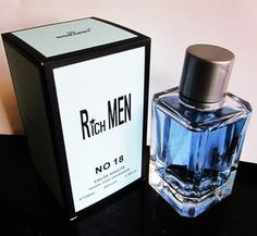 MEN Rich Men No18' GIORDANO AMARO PERFUM 100ml