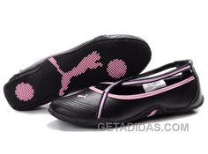 d3cb72ebe9e9 Womens Puma 5 On Behalf Sandals Black Pink Christmas Deals