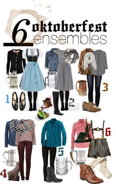 The Lovely Side: 6 Oktoberfest Ensembles for your Fall Festivities