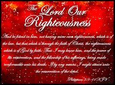 Righteousness Through Faith in Christ - Philippians 3:9-11