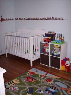 Transportation Theme Toddler Boys Bedroom