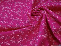 Rose & Hubble Cotton Poplin Fabric - Tiny Treasure / Cerise … WeaverDee.com Tiny Treasures, Gorgeous Fabrics, Poplin Fabric, Heaven, Rose, Cotton, Sky, Pink, Heavens