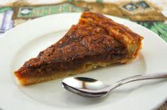 Пирог с грецкими орехами в кленовом сиропе