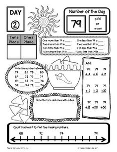 Multiplication and Division Fact Families Hard Worksheet | Pinterest