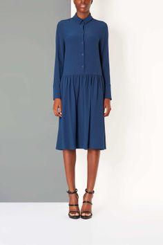 Shirt Dress, High Fashion, Women s Dresses, Topshop, Shirts, Black, Blouse,  Shirtdress, Couture, Chemise Dress, Haute Couture, High Fashion  Photography, ... 509d519f93b2