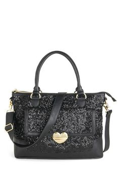 Betsey Johnson Sequins in the Rain Bag, #ModCloth