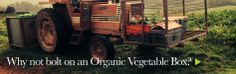 Organic vegetable boxes from Eversfield Organic - why not bolt one on to your meat box order?