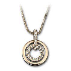 Circle pendant - rose gold £69