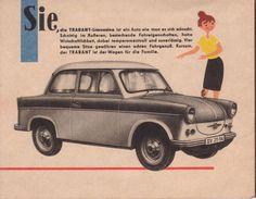 Trabant 500 Prospekt, 1961