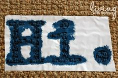 Personalized Rug