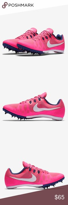 best loved 5010f 6eb82 Women s Nike Zoom Rival M 8 Track  amp  Field pink New Women s Nike Zoom  Rival