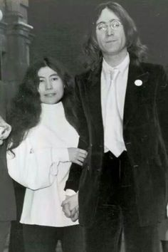 Yoko & John John Lennon Yoko Ono, The Ed Sullivan Show, Give Peace A Chance, The Fab Four, Jazz, Famous Faces, The Beatles, Flower Power, The Man