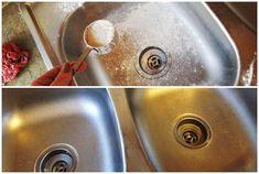Csillogni-villogni fog az inox mosogatód, ha ezt a módszert kipróbálod! Minion, Sink, Cleaning, Household Tips, Home Decor, Kitchen, Sink Tops, Vessel Sink, Decoration Home