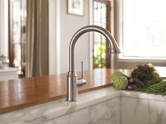 Hansgrohe Metro HighArc Kitchen Faucet with 2-function Pull-down ...
