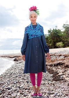 Dress from Gudrun Sjöden.