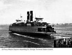 The Staten Island Ferry Past Ferries 1