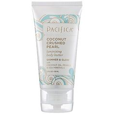 Pacifica Coconut Crushed Pearl Luminizing Body Butter 2 oz - http://essential-organic.com/pacifica-coconut-crushed-pearl-luminizing-body-butter-2-oz/
