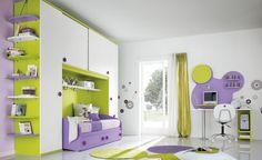 Children's Room Decorating Ideas Photos: Excellent Children's Room Decorating Ideas With Bed With Closet And Circle Rug ~ jsdpn.com Kids Room Designs Inspiration
