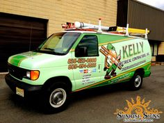 Kelly Electrical Contractors Brand Their Business Fleet With Van Wraps in NJ