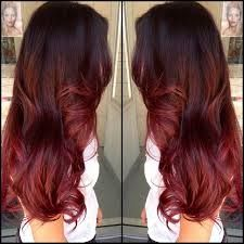 Just not this dark of brown and not that much red on the end.. and make it a different red..