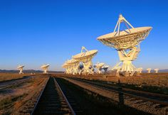 National Radio Astronomy Observatory Radio Telescope Dishes