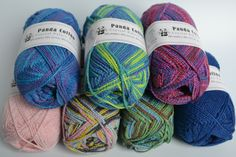 Crystal Palace | Panda Sock Yarn | Vegan Yarn Store