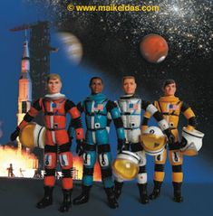 Major Matt Mason and friends.  My all time favorite toys.