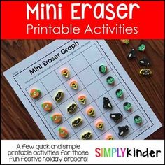 Browse over 730 educational resources created by Simply Kinder in the official Teachers Pay Teachers store. Preschool Lessons, Preschool Math, Teaching Kindergarten, Head Start Classroom, Classroom Fun, The Very Busy Spider, Alphabet Writing, Halloween Math, Math Centers