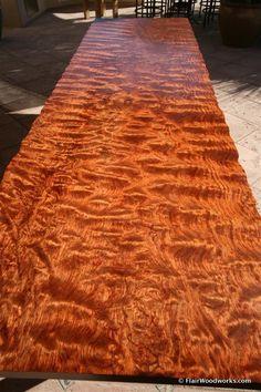 Bubinga Table Top