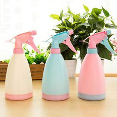$2.50 400ml-Empty-Hand-Trigger-Water-Spray-Plastic-Bottle-Cleaning-Plant-Gardening-New
