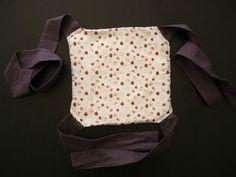 Porte bébé pour petite fille DIY