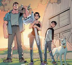 The Kents (Superman Vol 4 : DCcomics Dc Comics Characters, Dc Comics Art, Marvel Dc Comics, Fun Comics, Superman And Lois Lane, Superman Family, Comic Book Publishers, Comic Books, Comic Superman