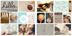 Project Life 2014: Week One | Erika Eagle