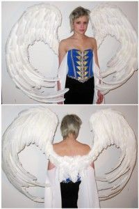 Wing Tutorial - using a corset system instead of straps.