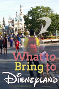 You want JUST the essentials at Disneyland. Unless you're Marry Poppins you can't be carrying around everything. Here's what I recommend goes in your Disney bag! This post will tell you just what to bring to Disneyland.