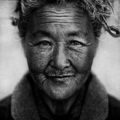 ...homeless lady....Photo by Lee Jeffries....