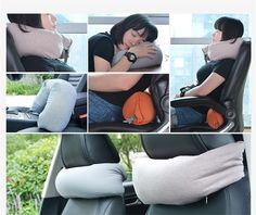 Muji U Shaped Pillow with Neck Pillow