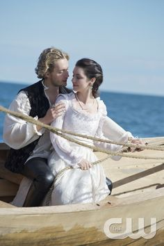 """Reign -- """"In A Clearing"""" -- Image Number: RE305c_0344.jpg -- Pictured (L-R): Toby Regbo as King Francis II and Adelaide Kane as Mary, Queen of Scotland and France -- Photo: Sven Frenzel/The CW -- © 2015 The CW Network, LLC. All rights reserved.pn"""