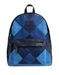 f147fa8779223 COACH Coach Campus Mixed Canyon Quilt Leather Backpack.  coach  bags   backpacks