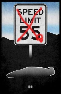 Movie Car Posters (56 pics) 13: Cannonball Run