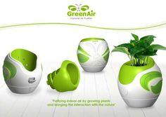 Eco air purifiers that keep the surroundings clean and green | Designbuzz : Design ideas and concepts