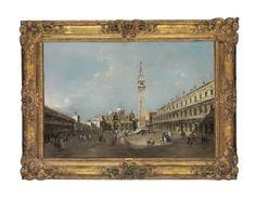 FRANCESCO GUARDI (VENISE 1712-1793) La place Saint-Marc avec la basilique et le campanile Price realised  EUR 6,738,500 Estimate  EUR 4,000,000 - EUR 6,000,000