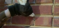 Watch this video to find out how to repair missing or cracked mortar joints on a brick wall from home improvement expert Danny Lipford.
