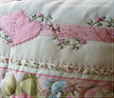 "Valentine Quilt Blessings ideas~""Hattie's Vintage Sewing""~"