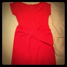 NWOT Alex and Alex twist front red dress sz small Gorgeous and classy red dress from Alex and Alex. Never worn. Size small. Alex and Alex Dresses