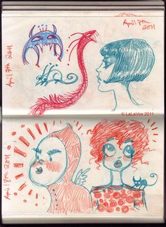 The LaLaVox Doodle Diary