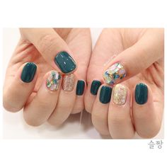 Semi-permanent varnish, false nails, patches: which manicure to choose? - My Nails Glam Nails, Fancy Nails, Beauty Nails, Cute Nails, Pretty Nails, Korean Nail Art, Gelish Nails, Perfect Nails, Simple Nails